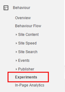 google adwords experiments na stranke