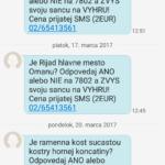 premiové sms